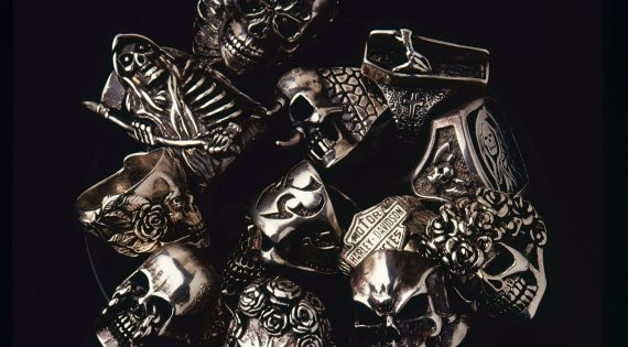 Men's Rings, From Dynastic Egypt To Hells Angels