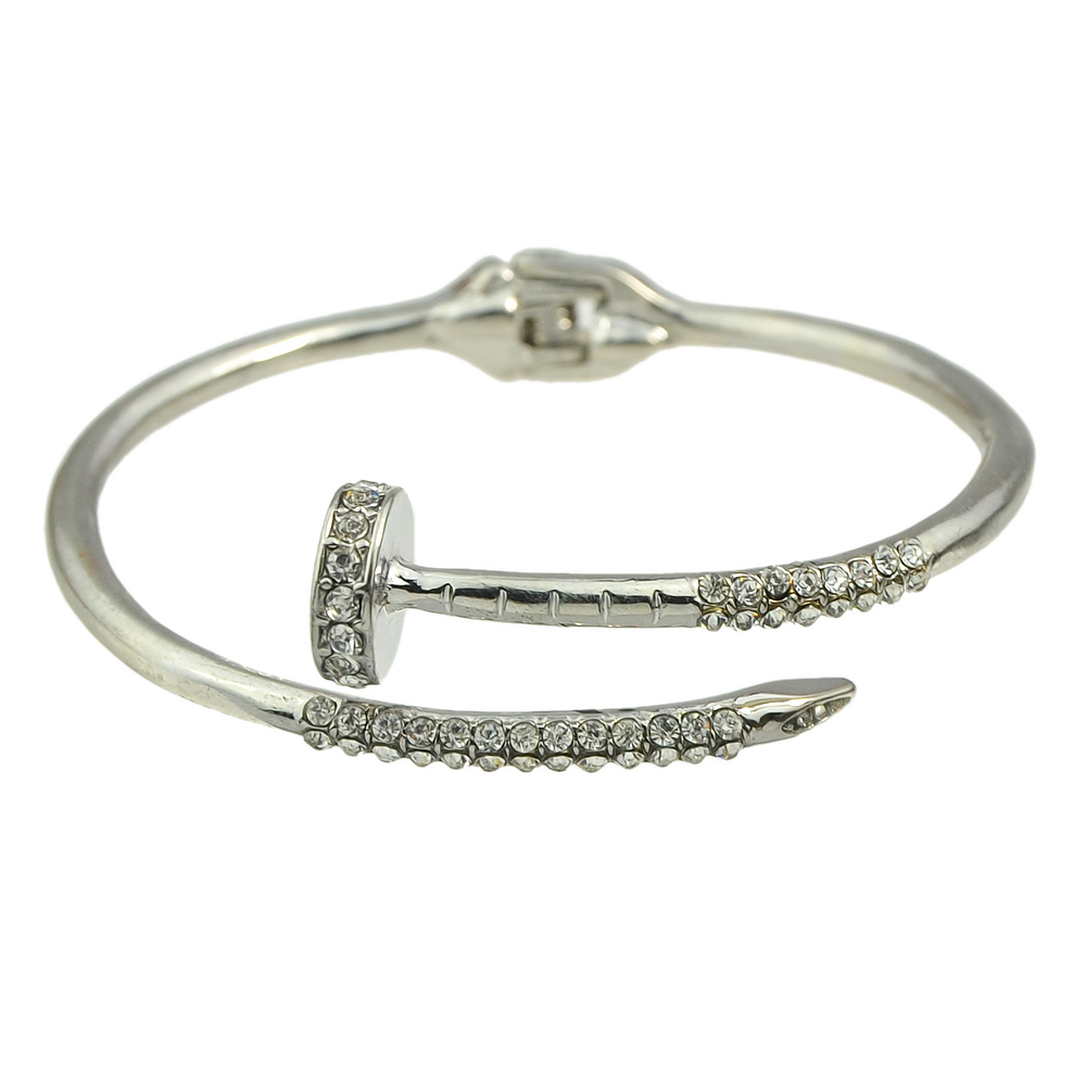 bangle sterling bangal with p gold silver bracelet for shop plated in trio