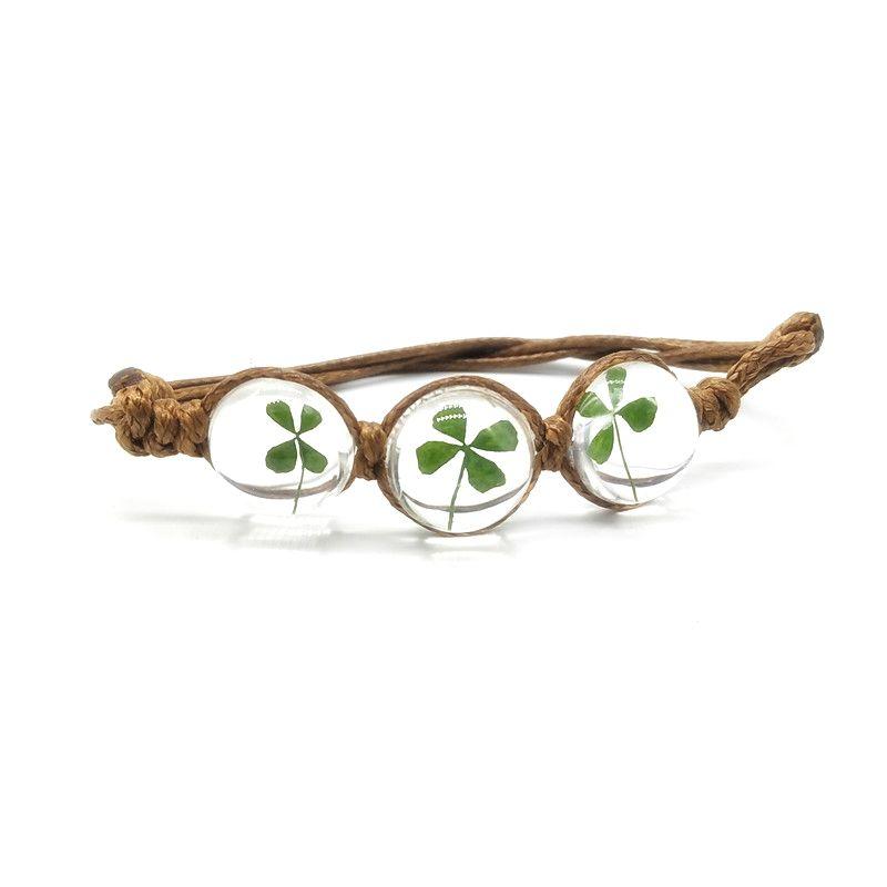 Dried-Four-Leaf-Clover-Bead-Bracelet-main