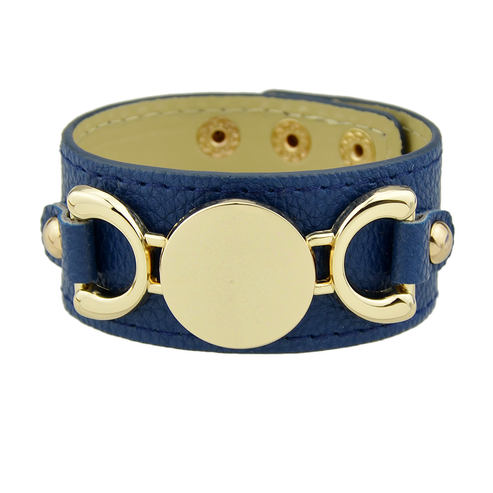 wide-leather-wrap-golden-bracelet-blue