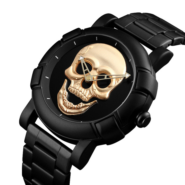 Black-Metal-Skull-Watch-1